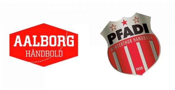 EHF CUP: Aalborg Håndbold - Pfadi Winterthur