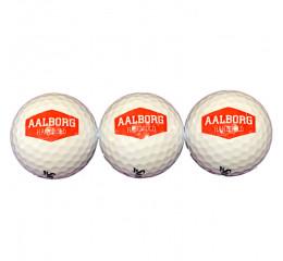 Aalborg Håndbold Golfbolde 3-pak